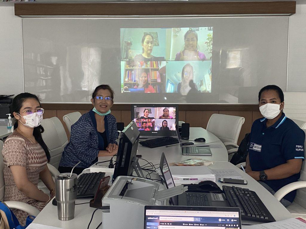 ดำเนินกิจกรรมสอบสัมภาษณ์ออนไลน์ สาขาพยาบาลศาสตร์ คณะพยาบาลศาสตร์ ประจำปีการศึกษา 2563 (รอบรับตรงอิสระ 3)