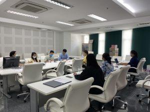 ประชุมเตรียมความพร้อมการทบทวนแผนยุทธศาสตร์คณะพยาบาลศาสตร์ ระยะ 5 ปี พ.ศ. 2563-2567