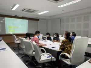 คณะพยาบาลศาสตร์ จัดประชุมทีมเลขาทำร่างแผนเพื่อเสนอต่อที่ประชุมกรรมการบริหารคณะ