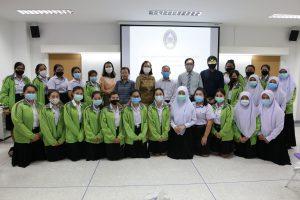 สาขาวิชาการแพทย์แผนไทยได้จัดงานปฐมนิเทศนักษาฝึกงาน สาขาการแพทย์แผนไทย