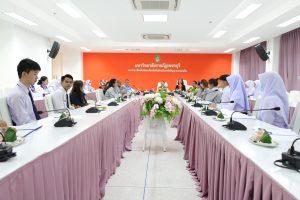 คณะพยาบาลศาสตร์ฯ ให้การต้อนรับ คณะผู้ดูแลนักศึกษาทุนท่านพลเอกสุรยุทธ์จุลานนนท์ ทุนสานใจไทย สู่ใจใต้ ทุนพระราชทานโครงการกองทุนการศึกษา