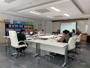 การประชุมคณะกรรมการอำนวยการคณะพยาบาลศาสตร์และวิทยาการสุขภาพ  ครั้งที่ 2