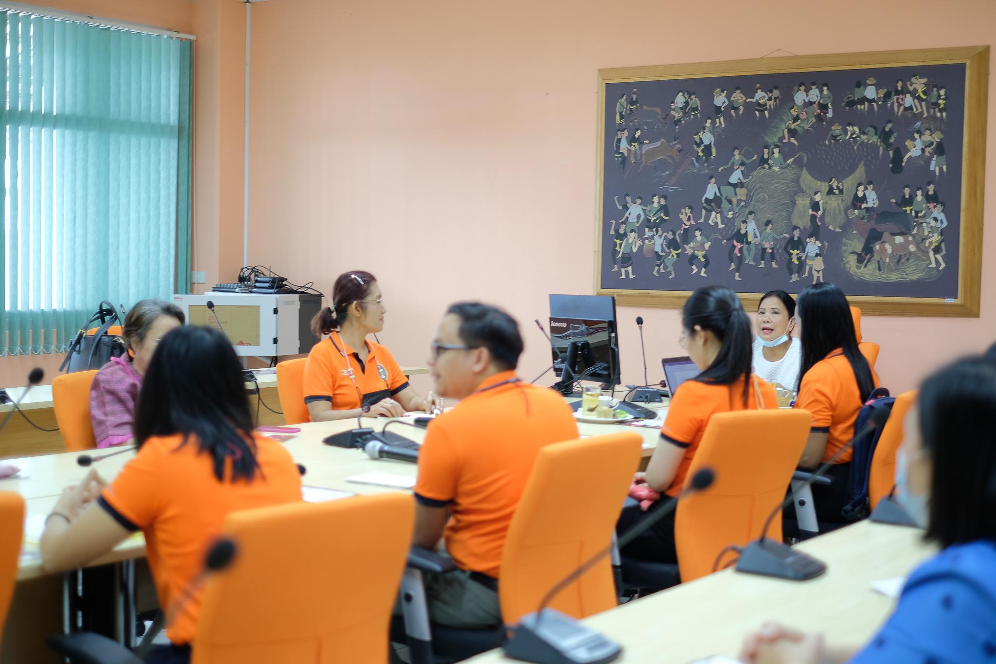 กิจกรรมการจัดการความรู้เพื่อพัฒนาการจัดการงานสนับสนุนวิชาการแบบมืออาชีพ