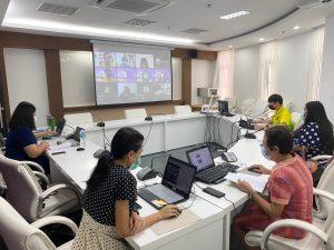 การตรวจประเมินประกันคุณภาพการศึกษาภายใน ระดับหลักสูตร หลักสูตรการแพทย์แผนไทยบัณฑิต ประจำปีการศึกษา 2563